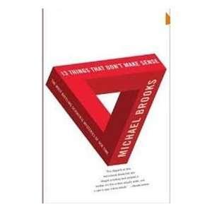 That Dont Make Sense Publisher Doubleday Michael Brooks Books