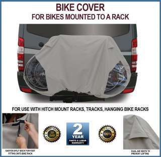 Deluxe RV Travel Bicycle Bike Cover for Mounted Bikes