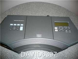 BOSE ACOUSTIC WAVE MUSIC SYSTEM II  AM/FM CD   IN GRAPHITE GREY W
