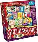 GREETING CARD FACTORY DELUXE VERSION 2 MORE WAYS TO SHOW YOU CARE