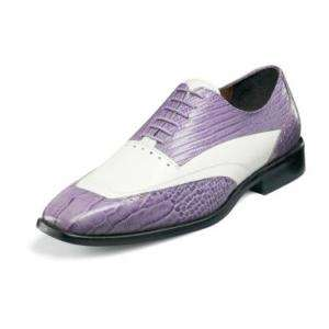 Stacy Adams Sondrio Mens Dress Shoes 24636 Lavender