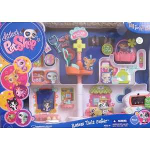 Littlest Pet Shop RESCUE TAILS CENTER Playset w LIGHT UP X