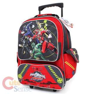 Mighty Morphin Power Rangers School Rolling Backpack Roller Bag