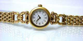 Beautiful Ladies Gold Tone COACH Watch w/ Box & Papers