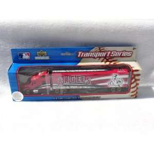 LOS ANGELES ANGELS MLB SEMI DIECAST TRACTOR TRAILER TRUCK by UPPERDECK