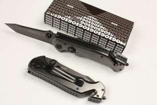 SOG Lock Stainless Steel Saber Folding Knife 20