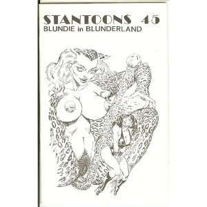 com Stantoons 45 Blundie in Blunderland, Part 1 Eric Stanton Books