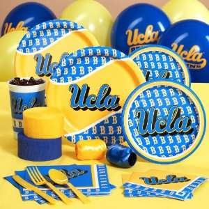 UCLA Bruins College Deluxe Party Pack for 8 Toys & Games