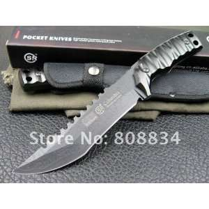 s017 tactical knife camping knife hunting knife with nylon