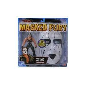 TNA Wrestling Masked Fury Action Figure with Mask Sting