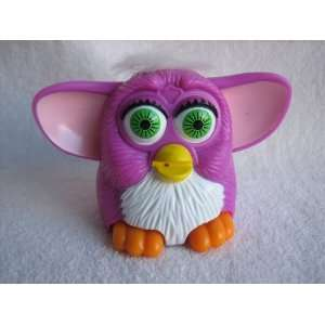 Mcdonalds Furby Baby, 3 Purple with White Tummy, White