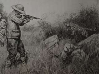 Theodore Roosevelt SIGNED 1st LIMITED EDITION African Game Trails 2