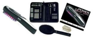 Package include power grow laser comb, massage comb, manicure kit