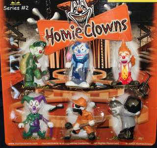 Homies, Homie Clowns #2, LOT of 12 cards   72 figures