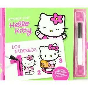 HELLO KITTY APRENDO LOS NUMEROS (9788493645915) MEDIALIVE