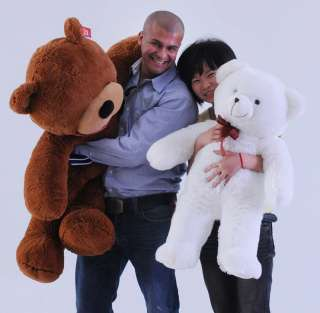 4M GIANT HUGE BIG SOFT PLUSH SLEEPY TEDDY BEAR 56