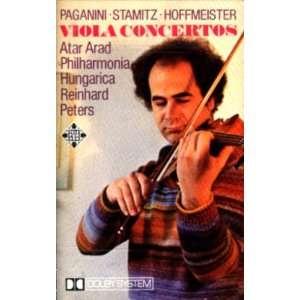 Paganini, Stamitz & Hoffmeister Viola Concertos / Atar Arad, Viola