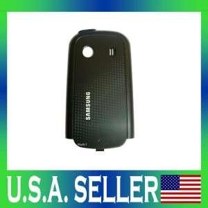 NEW OEM SAMSUNG SEEK SPH M350 BATTERY BACK DOOR COVER BLACK