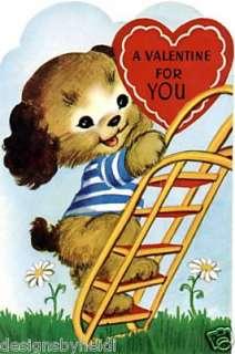 Valentine Vintage Greeting Refrigerator Magnet V133