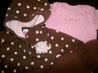 PC USED BABY GIRL NEWBORN 0 3 3 6 MONTHS SPRING SUMMER OUTFITS CLOTHES