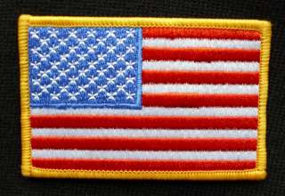 UNITED STATES USA AMERICA BIKER ARMY FLAG PATCH IRON ON