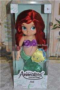 Disney ANIMATORS COLLECTION ARIEL LITTLE MERMAID 16 DOLL BRAND NEW