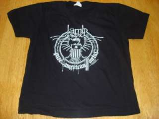 Lamb Of God American Heavy Metal Black T Shirt Size Toddlers S Slayer