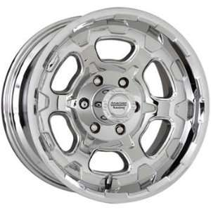 American Racing ATX Chamber 15x8 Chrome Wheel / Rim 5x4.75