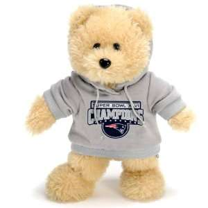 Patriots Super Bowl XLVI Champions Shirt Bear