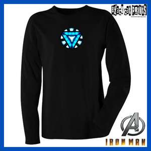 Iron Man Arc Reactor T Shirt *TRIANGLE ARC REACTOR* From the Avengers