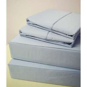 Solid Baby blue Queen Size 600 Thread Count 100% Egyptian