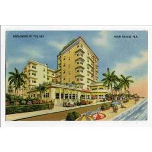 : Reprint Broadmoor by the sea, Miami Beach, Florida: Home & Kitchen