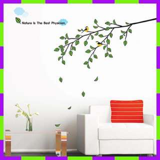 PS58196 MORNING TREE Wall Art Deco Decor Mural Sticker