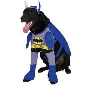 Dog Fancy Dress Costume Batman Blue Deluxe   Size XL Toys & Games