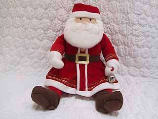 Hallmark Polar Express Christmas Talking Santa Plush