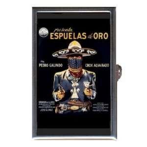 PEDRO GALINDO MEXICAN CINEMA BANDITO Coin, Mint or Pill Box Made in