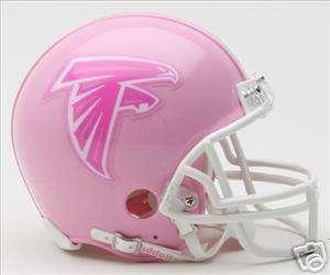 ATLANTA FALCONS (PINK) Riddell Mini Helmet (New)