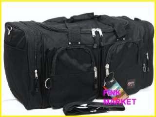 New Triple Gear Black Tote/ Duffle/ Gym Bag (22)