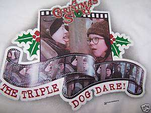 New Triple Dog Dare A Christmas Story Medium T shirt