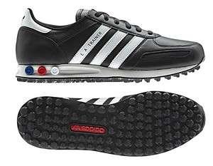 New Adidas Originals Mens LA TRAINER 2012 Shoes Black White