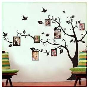 LARGE Black Photo Picture Frame Tree Vine Branch Removable
