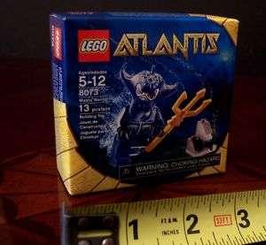 LEGO ATLANTIS 8073 MANTA WARRIOR WITH TRIDENT SPEAR NEW