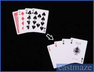 Magic Trick Toy Tool   4 Cards Magic   SEE DEMO