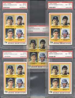 1978 Topps #707 Paul Molitor / Alan Trammell RCs PS