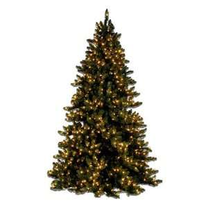 Multi Lights 12 Pre Lit Deluxe Layered Spruce Faux Tree