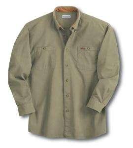 Carhartt Mens S142 Tradesman Canvas Work Shirt