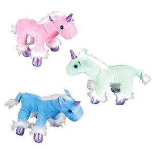 Unicorn Plush Animals (1 dz): Toys & Games