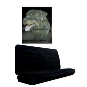 Car Truck SUV Rottweiler Dog Print Rear Bench or Small