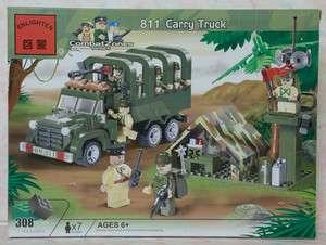 EN811 Enlighten Blocks Toy   Combat Zones Series   Carry Truck