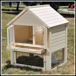 New Age Pet Huntington Townhouse Rabbit Hutch
